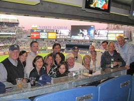 Yankee Game Night Photo